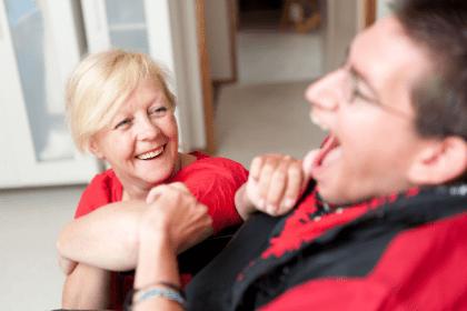 caregiver-individual-wheelchair